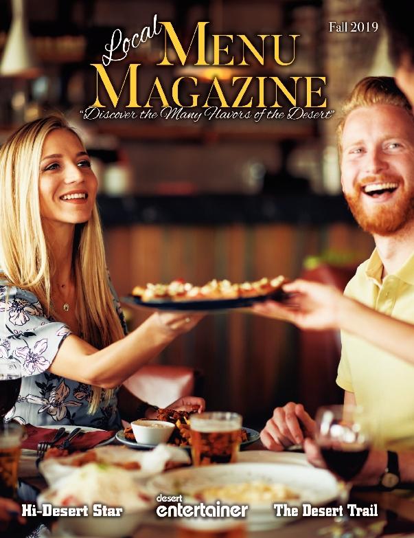 Fall 2019 Menu Magazine